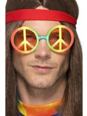 Multi Coloured Hippy Specs
